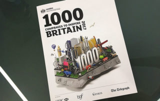 1000 companies to inspire Britain 2017